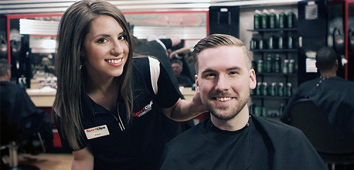 Sport Clips Haircuts of Puyallup - Rainier View Marketplace ​ stylist hair cut